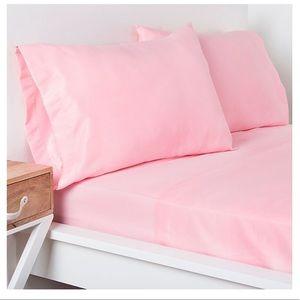 Target Dot Soft Pink Sheet Sets (Full/Queen